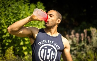 Protein shakes before or after workout