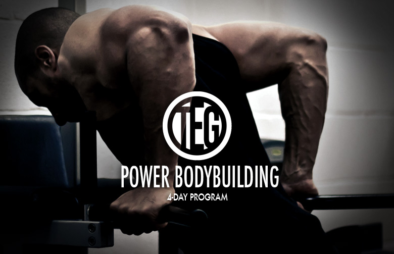 Power Bodybuilding 4 day split