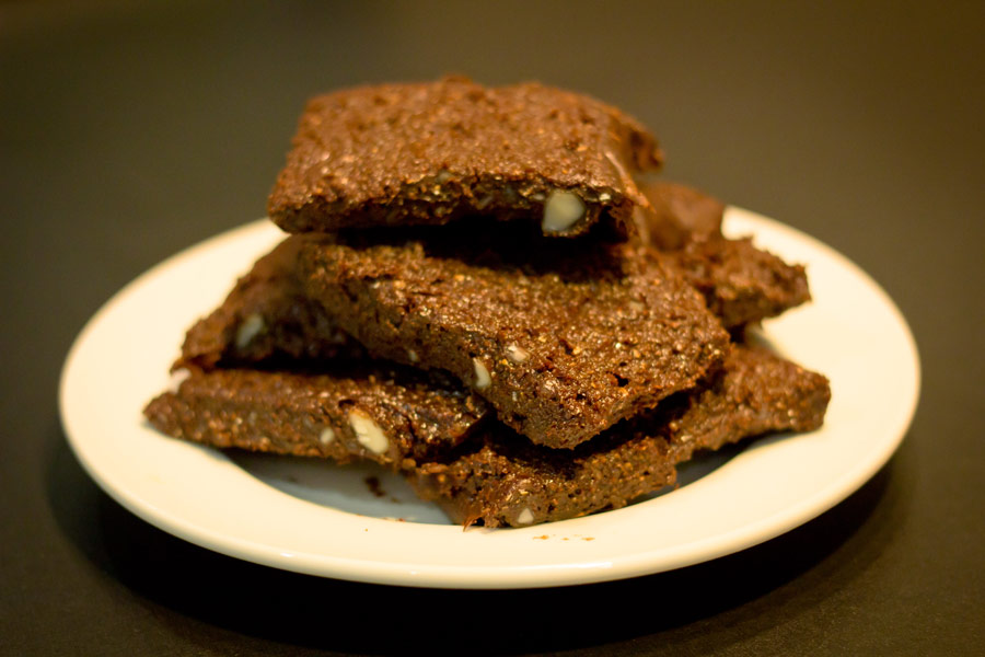 Chocolate Protein No-Bake Flapjack