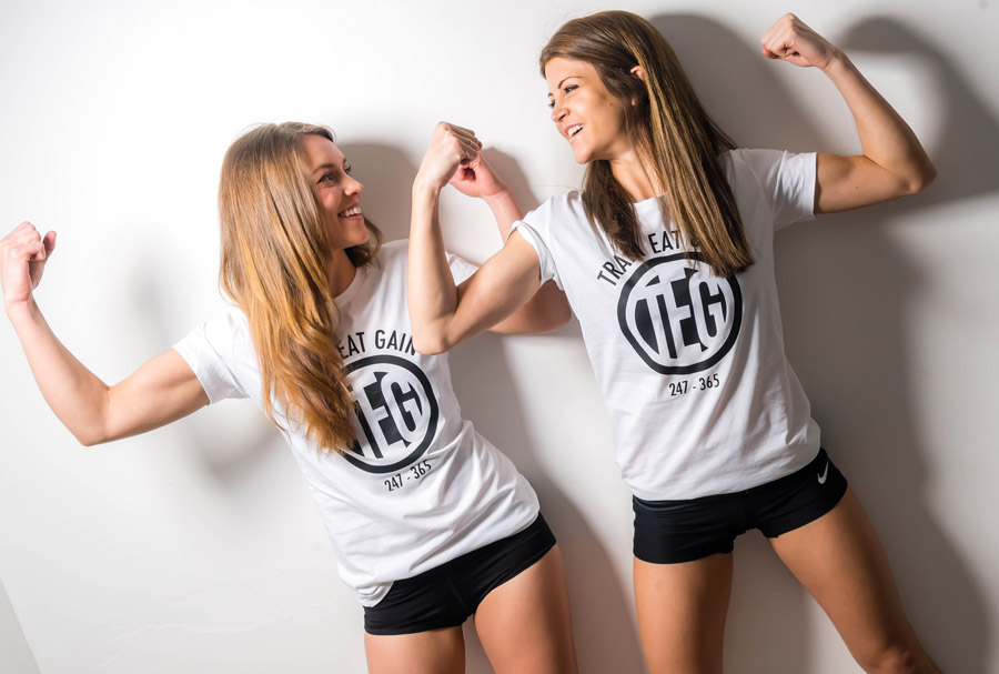 Female Fitness - Photoshoot Prep Girls