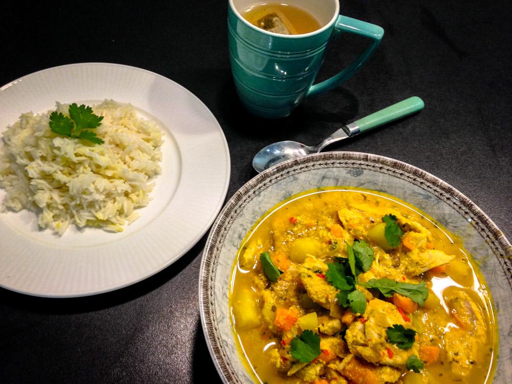 Healthy High-Protein Turkey Curry Recipe