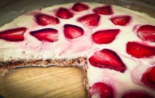 Strawberry Protein Cheesecake-1