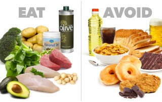 Foods to eat and avoid to stay in shape