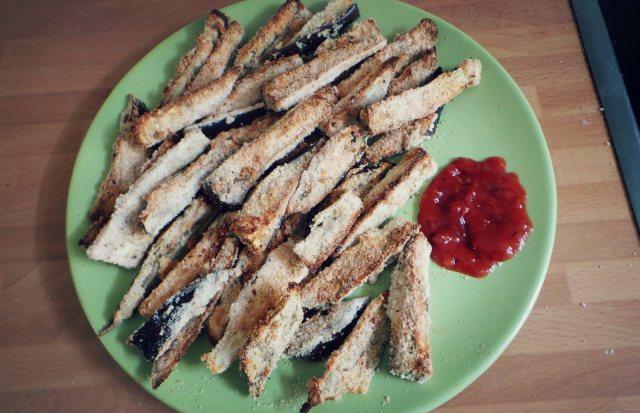 Gluten Free Aubergine Fries