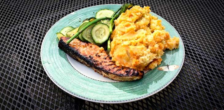 Honey Grilled Salmon Recipe