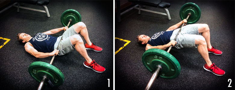 Glute Activation - Barbell Glute Bridge