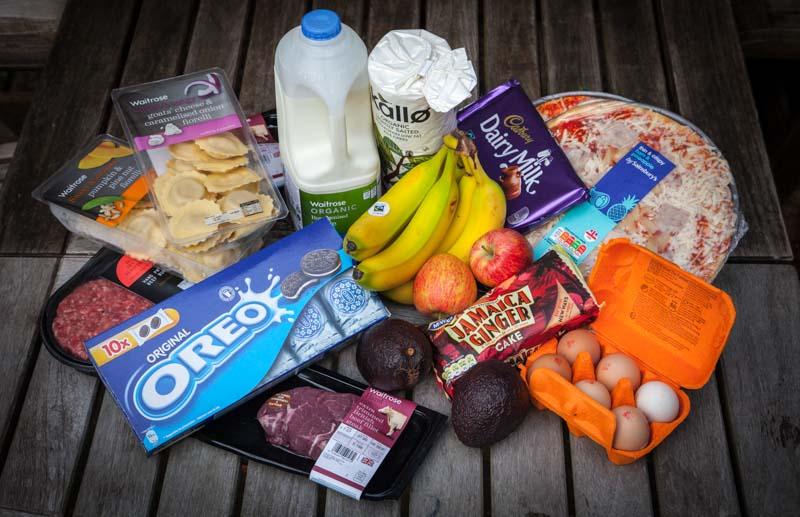 Flexible Dieting Example Foods