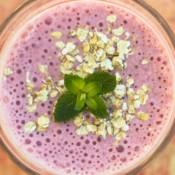 Strawberry Cheesecake Protein Smoothie 6
