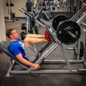 High Volume Leg Workout Leg Press