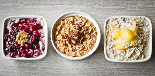 3 Easy Breakfast Oats Recipes