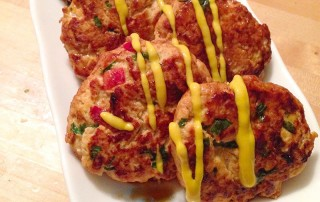 Chilli Pumpkin Turkey Burgers