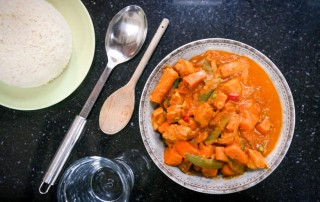 Spicy Sweet Potato Curry