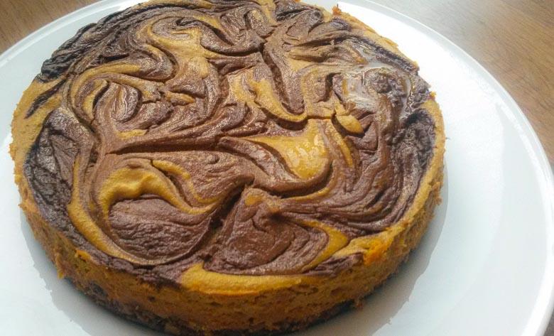 Pumpkin Protein Cheesecake