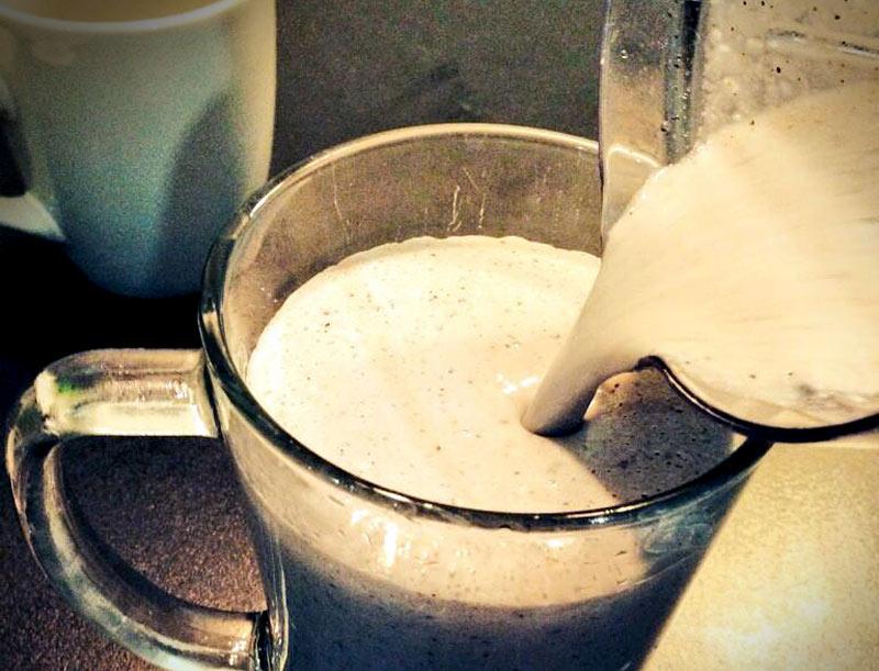 Almighty Almond Shake Breakfast