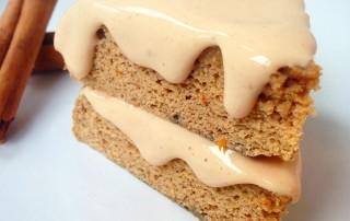 Spiced Cinnamon Pumpkin Protein Cake