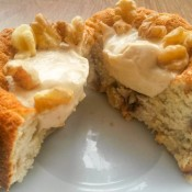 Apple Cinnamon Ginger Protein Cake