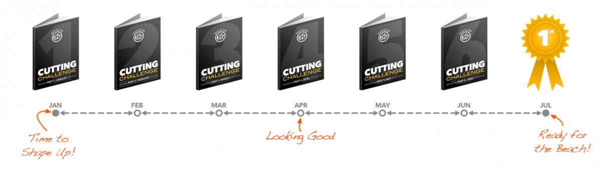 Cutting Challenge Timeline