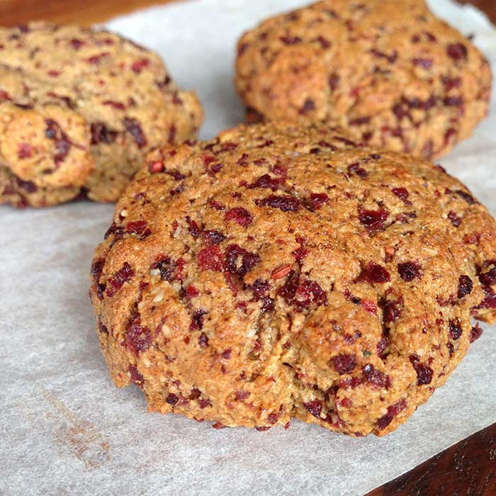 Cranberry Christmas Protein Cookies Traineatgain Com