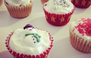 Festive Protein Cupcakes