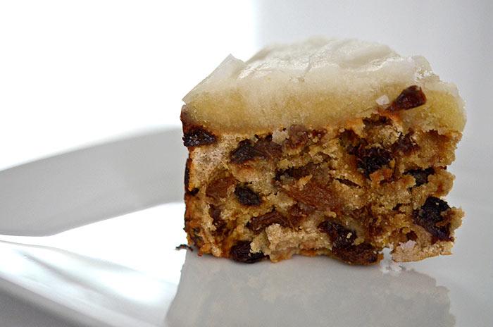 Protein Christmas Cake