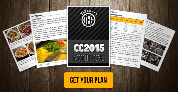 CC2015 Plan - High Volume Leg Workout Included