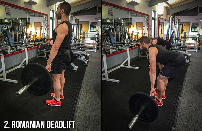 High Volume Leg Workout - Romanian Deadlift