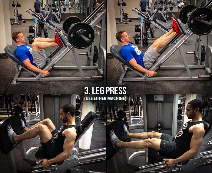 High Volume Leg Workout - Leg Press