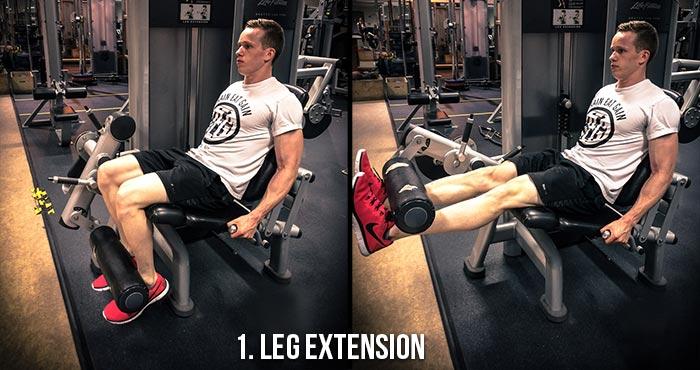 High Volume Leg Workout - Leg Extension