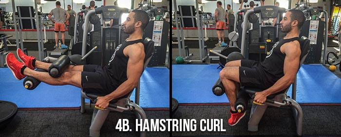 High Volume Leg Workout - Hamstring Curl