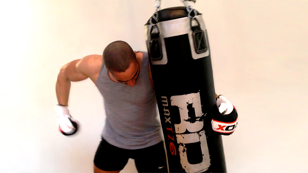 10-minute HIIT Punch Bag Workout