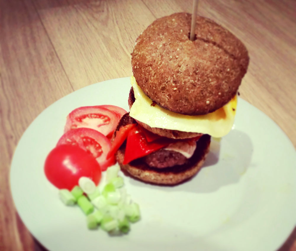 The Ultimate Healthy Burger Recipe