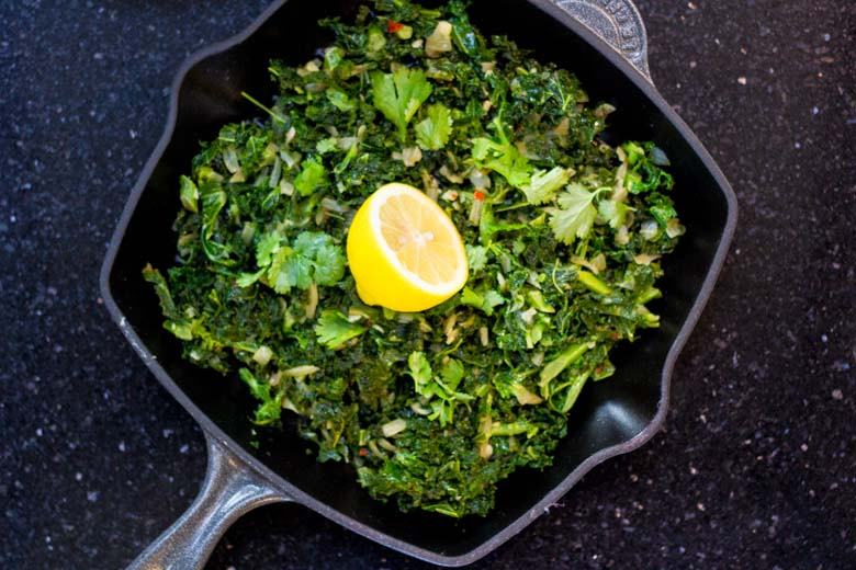 Kale Recipe With Garlic and Chilli