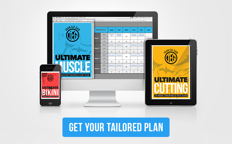 Get Your Tailored Training & Nutrition Plan