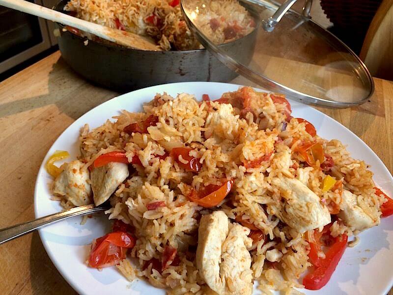 chicken chorizo jambalaya