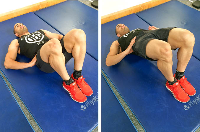 Bodyweight Glute Bridge (Double Leg)