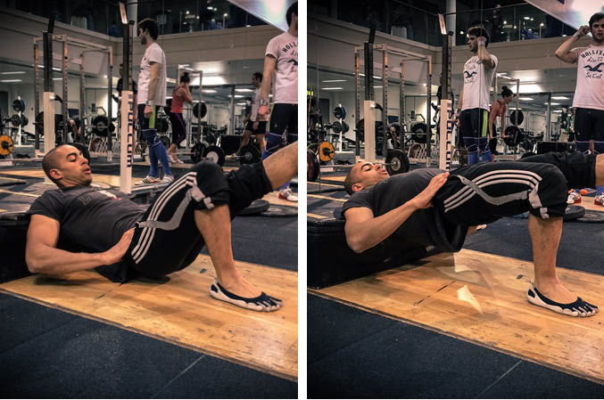 SIngle Leg Bodyweight Hip Thrust