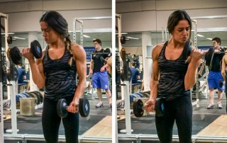 Supinated Biceps Curl