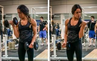 Alternating Biceps Curl