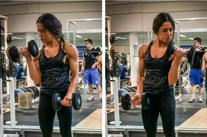 Alternating Biceps Curl Exercise Guide