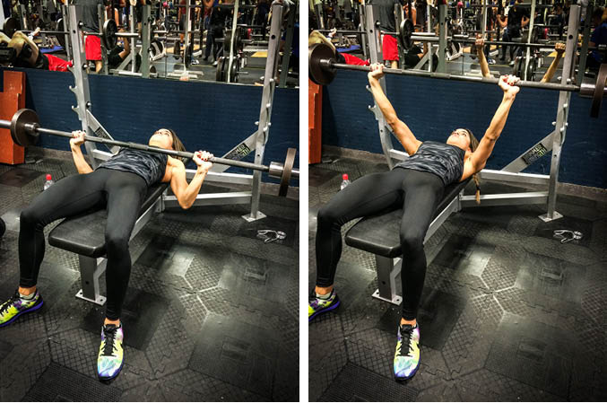 Barbell Bench Press Exercise Guide