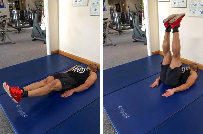 Lying Leg Raise Exercise Guide