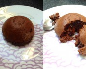 Dark Chocolate Steamed Pud
