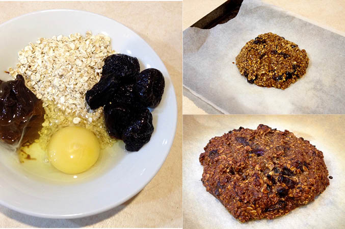 Oaterly Lovely Marmite and Prune Cookie