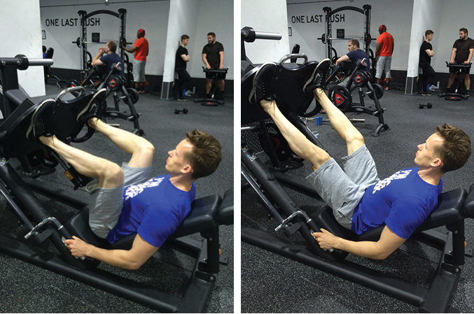 High & Wide Leg Press Exercise Guide